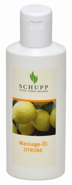 Schupp Massageöl Zitrone