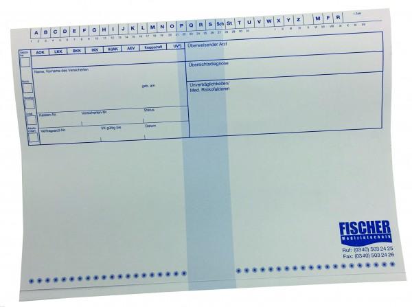 Patientenkarteikarten - 100 Blatt