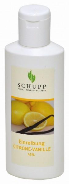 Schupp Einreibung Citrone-Vanille 45 %