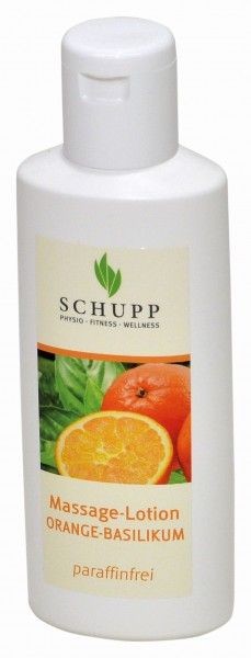 Schupp Massagelotion Orange-Basilikum