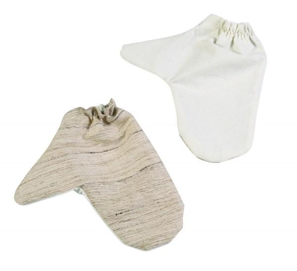 Seiden-Massagehandschuhe - 1 Paar