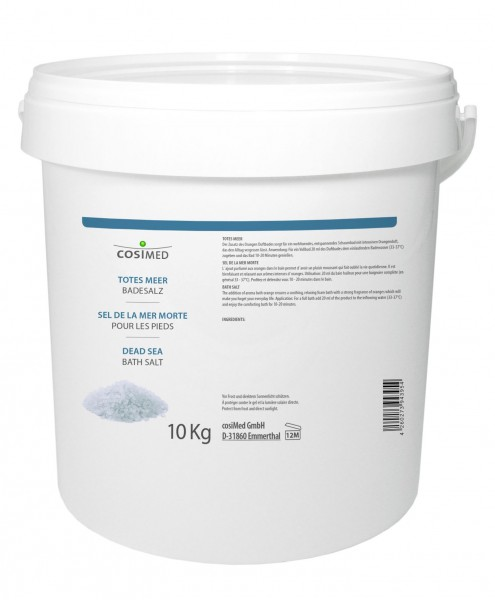 Totes Meer Badesalz - 10 kg Eimer