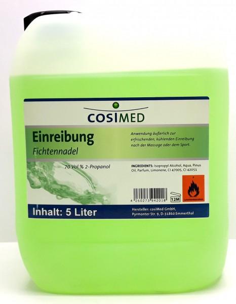 Cosimed Einreibung Fichtennadel 70 % 5 Liter