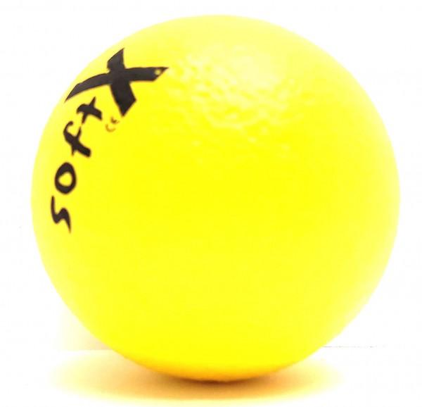 Soft-X-Weichschaumball d = 8 cm, gelb