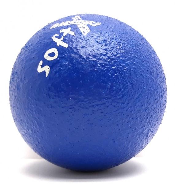 Soft-X-Weichschaumball d = 8 cm, blau