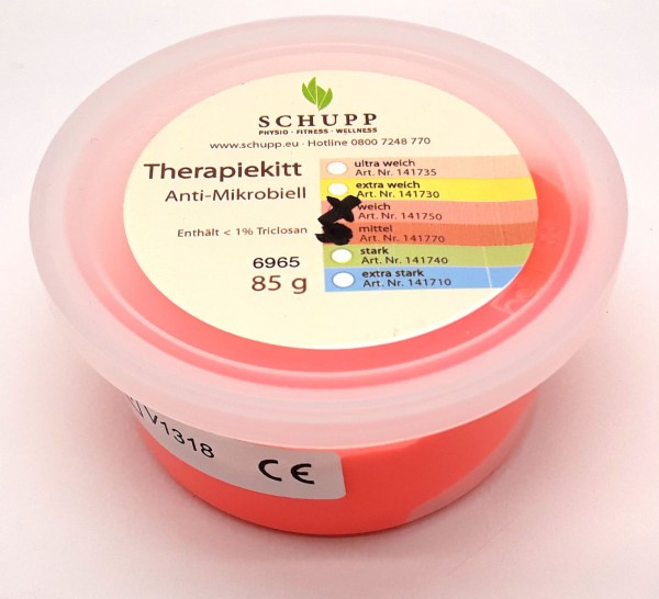 Therapiekitt 80 g, weich, orange
