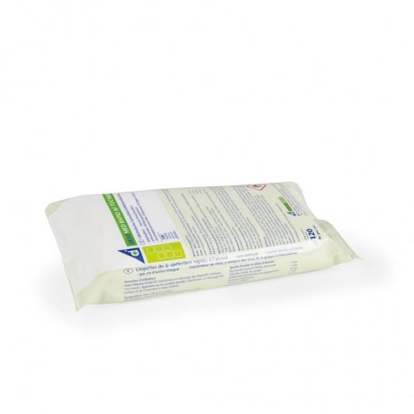 Desomed Rapid Desinfektionstücher mit Lemonduft - Nachfüllbeutel mit 120 Tücher