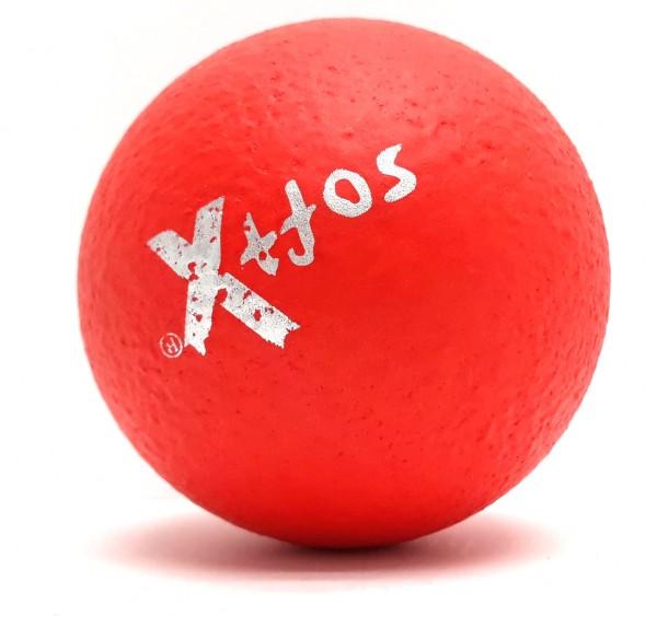 Soft-X-Weichschaumball d = 8 cm, rot