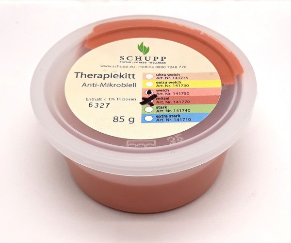 Therapiekitt 80 g, mittel, terracotta